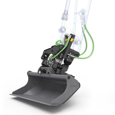 Sistema Rototilt per miniescavatori Volvo